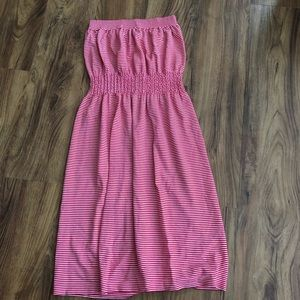 Striped Cover Up/Dress